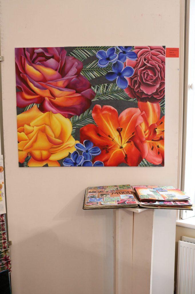 Fantastic GCSE Art work on display - Enniskillen Royal