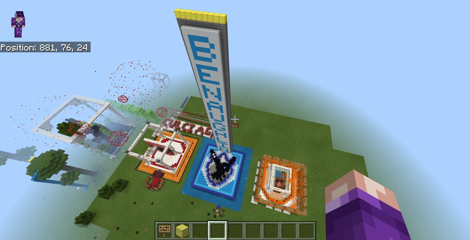 Inter House Minecraft Enniskillen Royal Grammar School